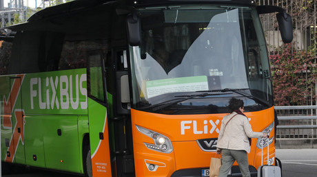 Un bus FlixBus à l'aéroport international de Nice, le 4 décembre 2019 (image d'illustration).
