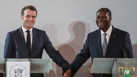 Emmanuel Macron et Alassane Ouattara ont annoncé la fin du franc CFA, ce 21 décembre, à Abidjan.