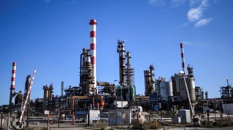 La raffinerie de Lavéra dans les Bouches-du-Rhones