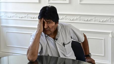 Evo Morales à Buenos Aires le 24 décembre 2019 (image d'illustration).