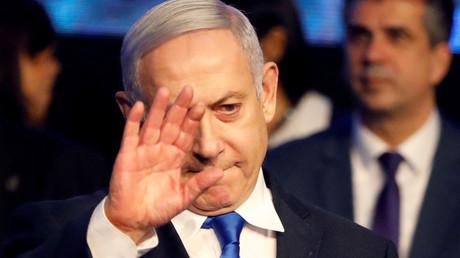 Benjamin Netanyahou à Tel Aviv le 17 novembre 2019 (image d'illustration).