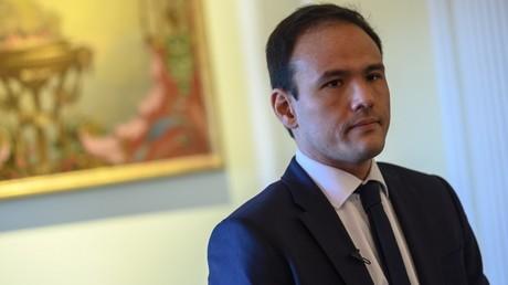 Le secrétaire d'Etat au Numérique, Cédric O, le 3 décembre 2019, à Washington (image d'illustration).