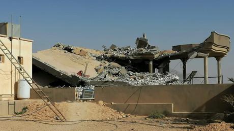 Un des sites du Kataëb Hezbollah pris pour cible par l'armée américaine le le 29 décembre.
