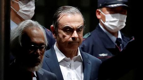 Carlos Ghosn, le 25 avril 2019, à Tokyo.
