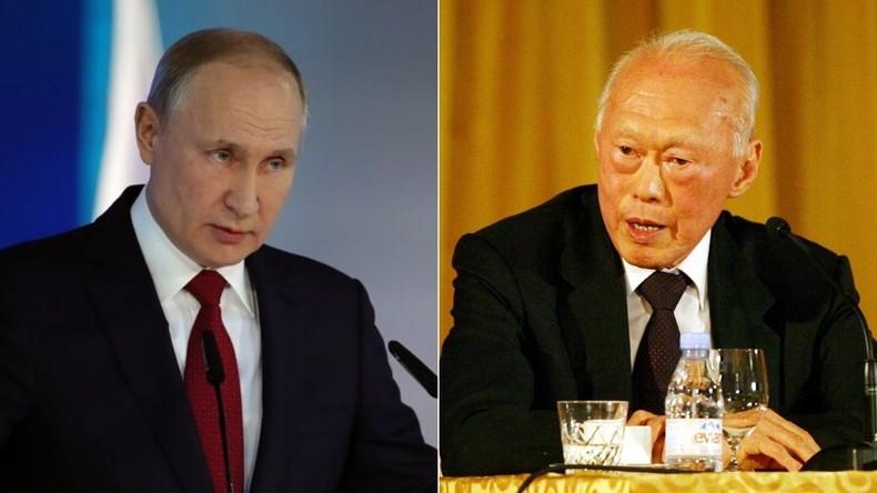 Au terme de son mandat présidentiel, Vladimir Poutine ne veut pas suivre l'exemple de Singapour