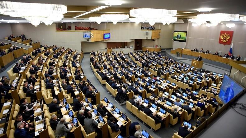 Les députés russes approuvent en première lecture la réforme constitutionnelle proposée par Poutine
