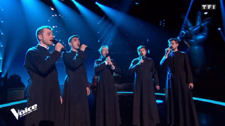 Performance remarquée de séminaristes orthodoxes russes dans l'émission «The Voice»
