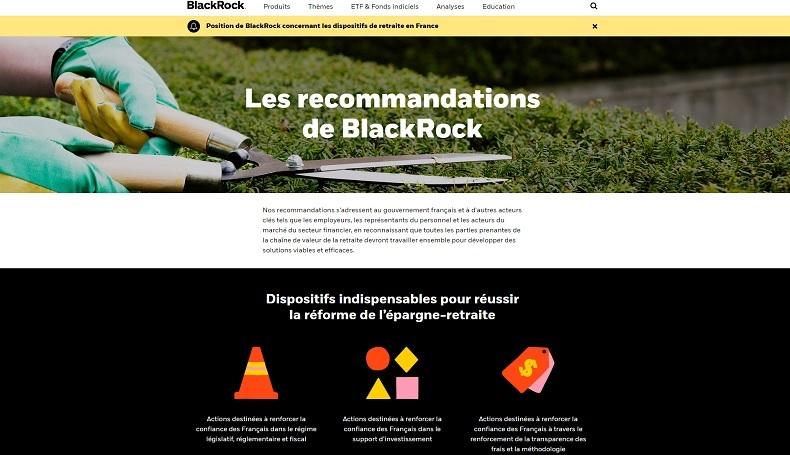 Retraites : le marché français est-il réellement une «boîte de Smarties» pour BlackRock ?