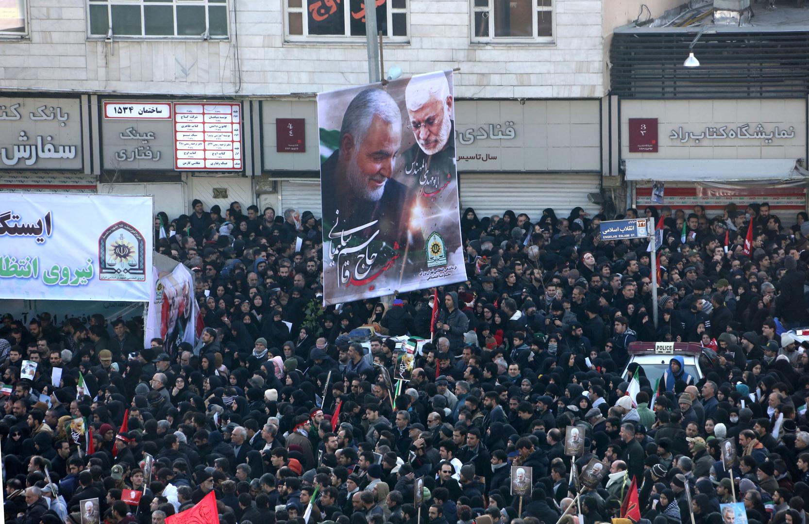 Les Etats-Unis affronteront «un jour sombre», menace la fille du général iranien Soleimani