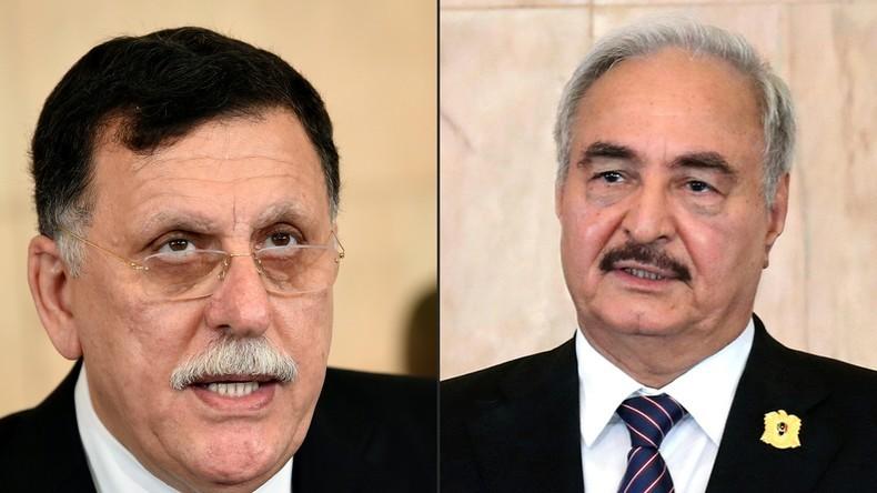 Libye : cessez-le-feu entre Haftar et le GNA, Poutine appelle à la tenue d'une conférence de paix