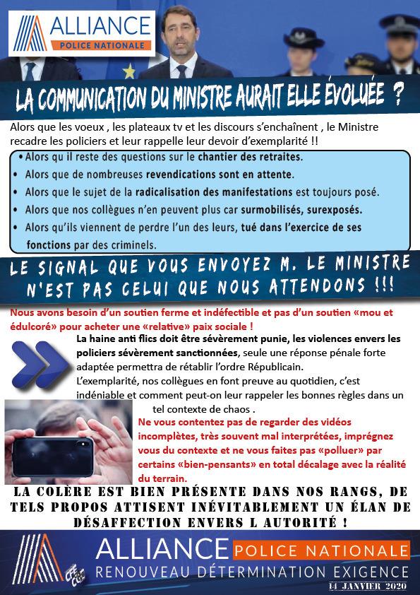 Castaner reçoit la famille de Cédric Chouviat, livreur décédé après son interpellation à Paris