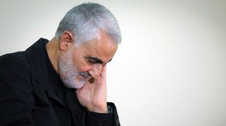 Qassem Soleimani, à Téhéran, en Iran (image d'illustration).