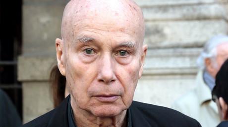 L'écrivain Gabriel Matzneff, 2014