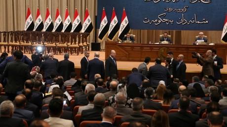 Le Parlement irakien, le 24 octobre 2018, à Bagdad (image d'illustration).