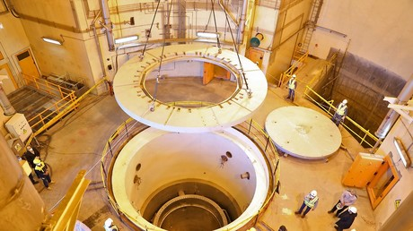 Une photographie du réacteur nucléaire d'Arak en Iran, en décembre 2019 (image d'illustration).