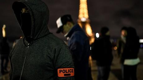 Marche de policiers associatifs contre le suicide le 12 mars 2019 à Paris (image d'illustration).