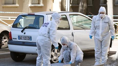 La police technique et scientifique à l'oeuvre à Marseille sur une scène de crime, avril 2018 (image d'illustration).