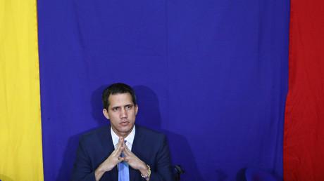Juan Guaido, leader du parti politique d'opposition vénézuélienne Volonté populaire.