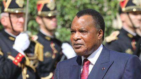 Le 3 septembre 2019, le président de la République démocratique du Congo Denis Sassou-Nguesso est accueilli au palais de l'Elysée.