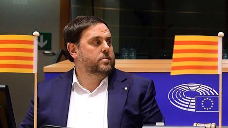 Le Parlement européen prive l'indépendantiste catalan Oriol Junqueras de son mandat de député