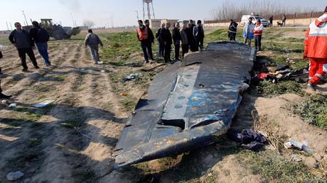 Les débris du Boieng 737-800 ukrainien, abattu par erreur à Téhéran (image d'illustration).