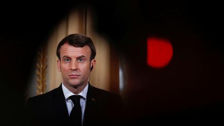 Emmanuel Macron, le 7 janvier 2019, jour d'un dîner politique à l'Elysée (image d'illustration).
