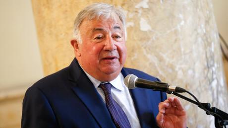 Gérard Larcher à Ajaccio, le 15 août 2019.