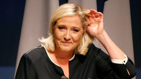 Marine Le Pen le 25 septembre 2019 à Fréjus (image d'illustration).