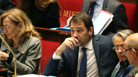 Christophe Castaner à l'Assemblée nationale le 14 janvier 2020 (image d'illustration).