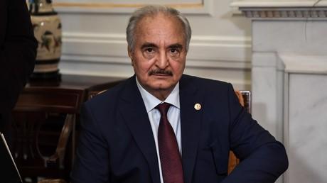 Le maréchal Haftar, homme fort de l'est libyen.