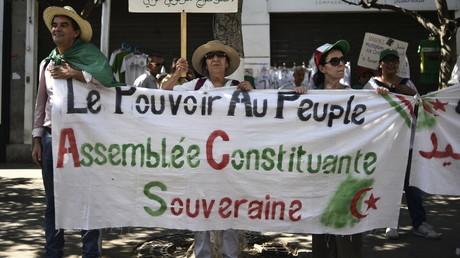 Manifestation contre la classe dirigeante à Alger, le 23 août 2019. (image d'illustration)