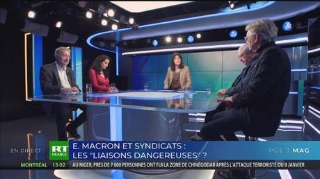 POLIT'MAG - Syndicats et Emmanuel Macron : les «liaisons dangereuses»