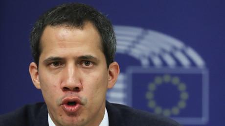 L'opposant vénézuélien Juan Guaido.