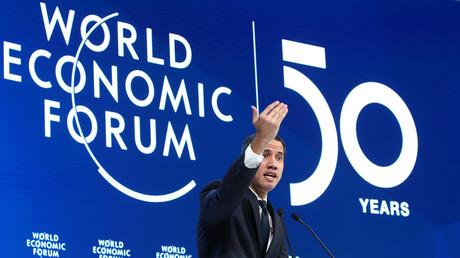 Juan Guaido, lors du Forum économique de Davos le 23 janvier 2020 (image d'illustration).