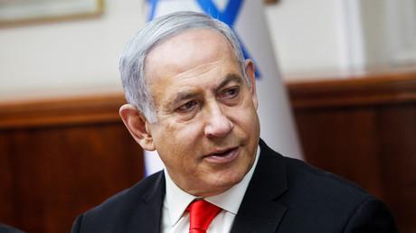 Benjamin Netanyahu, Premier ministre d'Israël, le 19 janvier 2020 à Jérusalem.