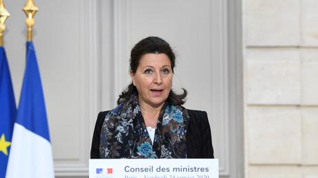 Agnès Buzyn en conférence de presse, le 24 janvier 2019, à Paris (image d'illustration).