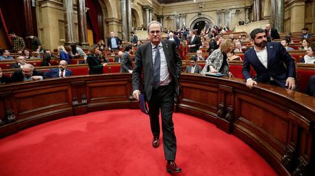 Catalogne : le président perd son mandat de député, le gouvernement indépendantiste en pleine crise