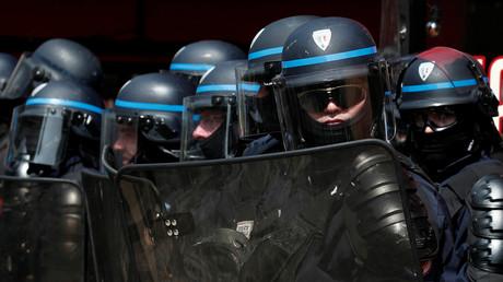 Des policiers affectés en compagnie d'intervention pour le maintien de l'ordre du 1er mai 2019 à Paris (image d'illustration).