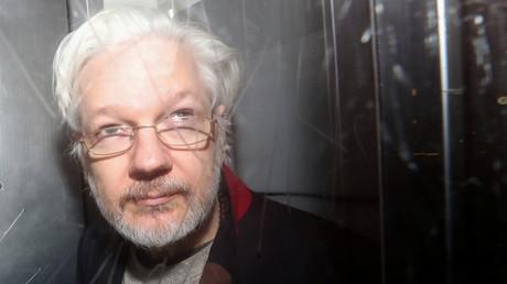 Le lanceur d'alerte Julian Assange.