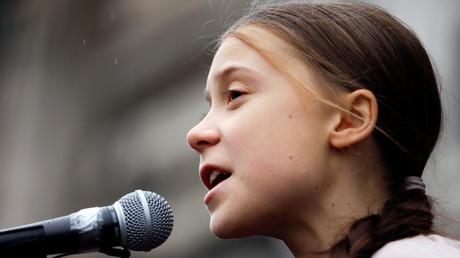 La militante écologiste suédoise Greta Thunberg.
