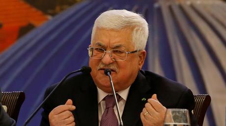 Le président de l'Autorité palestinienne, Mahmoud Abbas, le 28 janvier 2020 (image d'illustration).