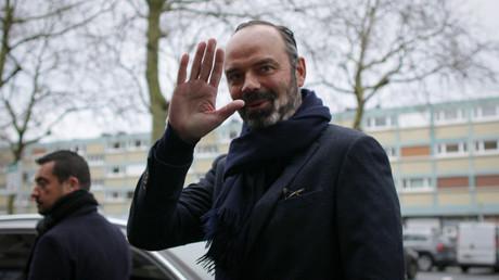 Edouard Philippe au Havre le premier février.
