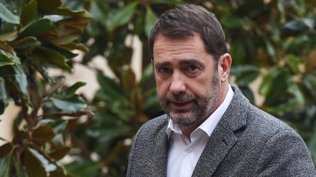 Christophe Castaner à Matignon pour une réunion sur le coronavirus le 26 janvier 2020 (image d'illustration).