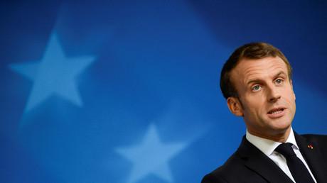 Emmanuel Macron, le 18 octobre 2019 (image d'illustration).