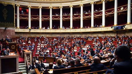 Hémicycle de l'Assemblée nationale (image d'illustration).