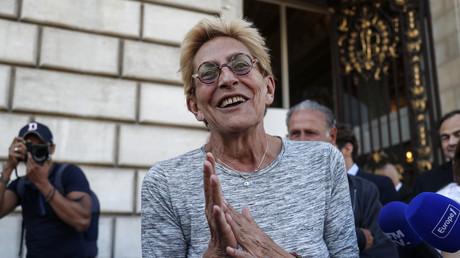 La première adjointe au maire de Levallois-Perret (92), Isabelle Balkany devant sa mairie, le 14 septembre 2019. (image d'illustration)