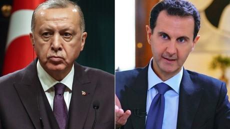 Recep Tayyip Erdogan et Bachar el-Assad (image d'illustration).