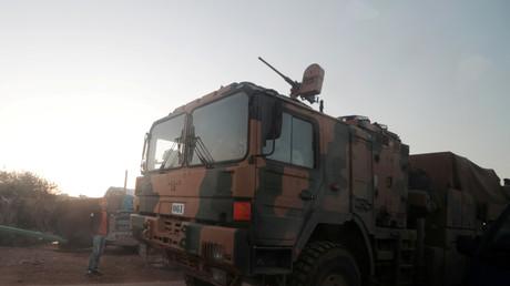 Un véhicule militaire turc dans la province d'Idleb (image d'illustration).