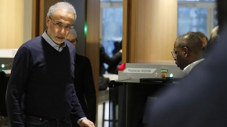 Tariq Ramadan au palais de justice de Paris, le 13 février 2020.