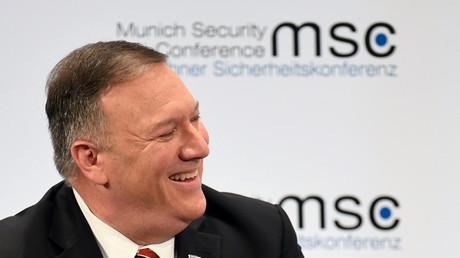 Mike Pompeo à la Conférence de Munich sur la sécurité, le 15 février 2020.